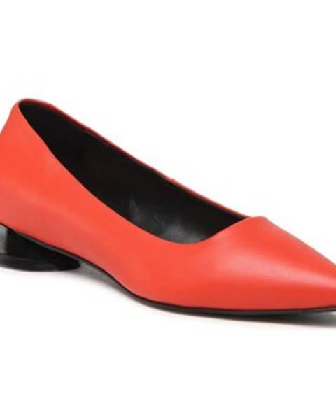 Oranžové balerínky Gino Rossi