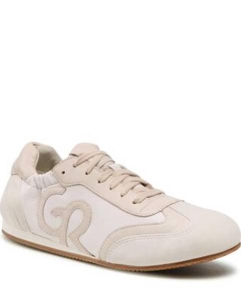 Biele poltopánky Gino Rossi Sport