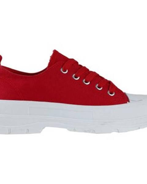 Červené tenisky Jenny Fairy