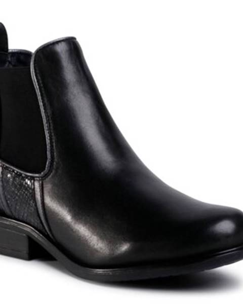 Čierne čižmy Lasocki