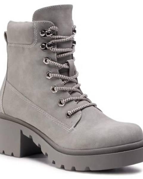 Šedé topánky DeeZee
