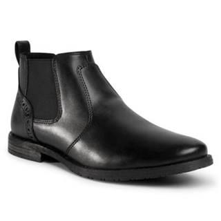 Členkové topánky  MBS-STEVEN-110 Imitácia kože/-Imitácia kože