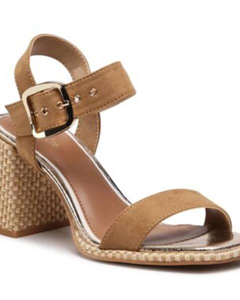 Hnedé sandále DeeZee
