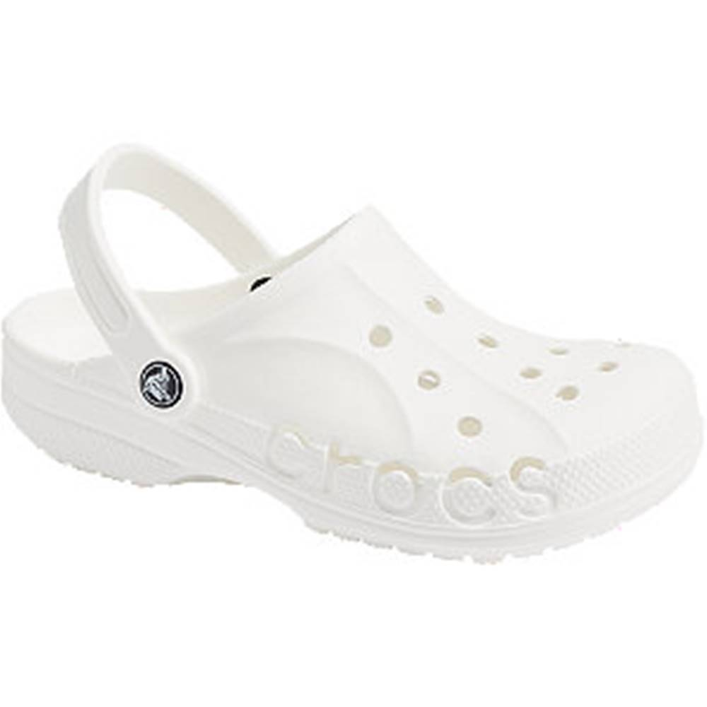 Crocs Biele plážové sandále