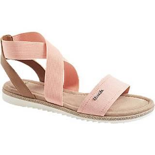 Lososové sandále