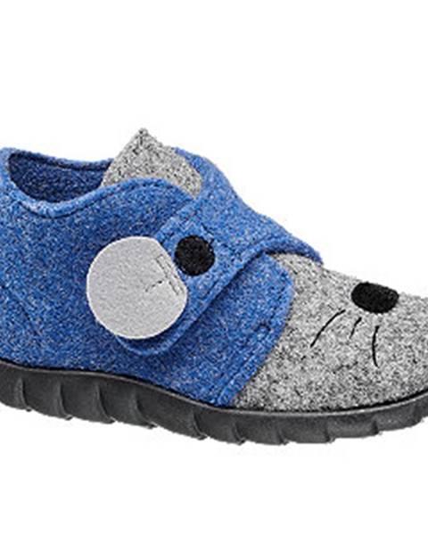 Modré papuče Elefanten
