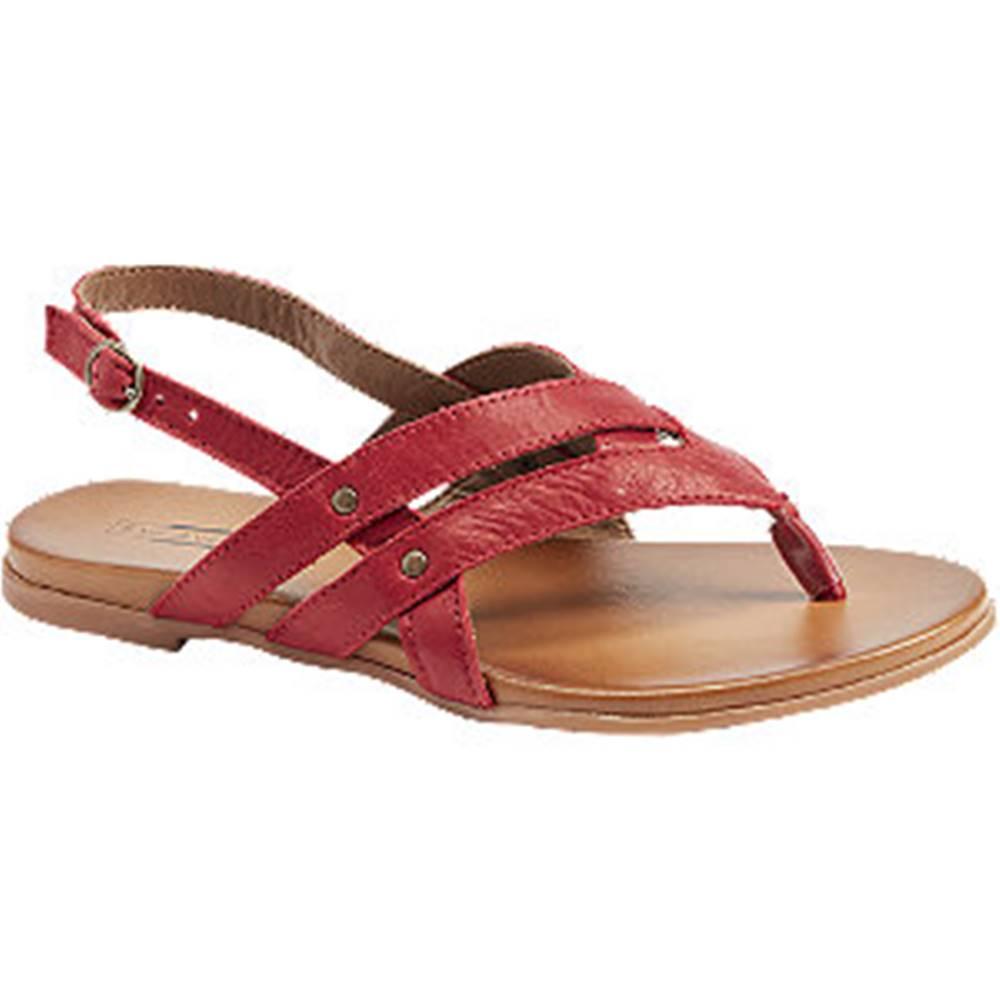 5th Avenue Červené sandále 5th Avenue
