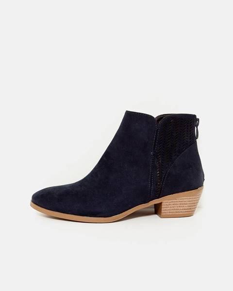 Tmavomodré topánky CAMAIEU