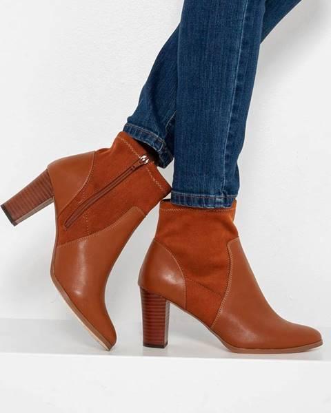 Hnedé topánky CAMAIEU