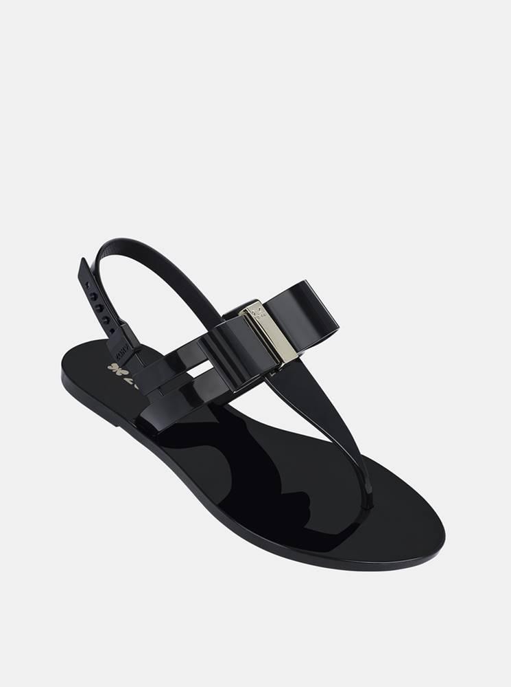 Zaxy Čierne dámske sandále