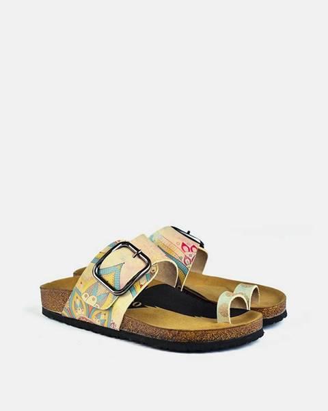 Žlté papuče calceo
