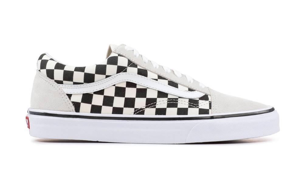 Vans Tenisky  Ua Old Skool (Checkerboard)Wht/Blk