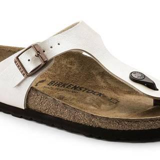 Topánky Birkenstock Gizeh Graceful Pearl White Regular