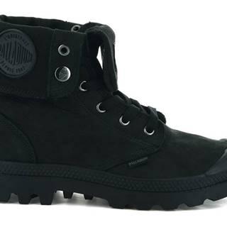 Topánky  Boots Baggy Nubuck Black