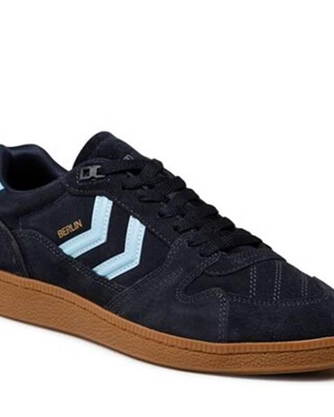Tmavomodré topánky Hummel