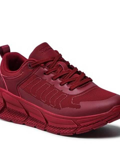 Bordové topánky Sprandi