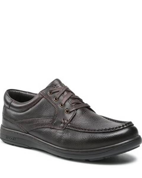 Tmavohnedé topánky GO SOFT