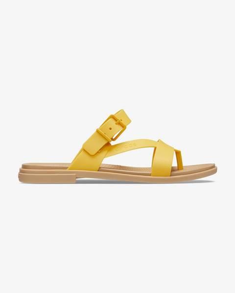 Žlté papuče Crocs