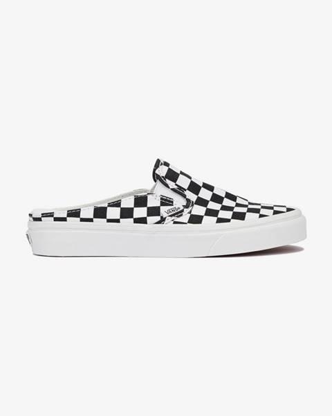 Čierne papuče Vans