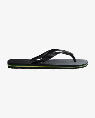 Čierne papuče Havaianas