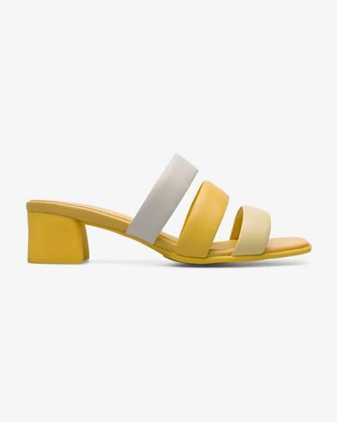 Žlté papuče Camper
