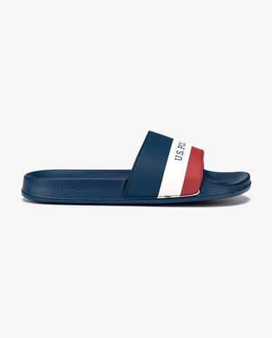 Modré papuče U.S. Polo Assn.