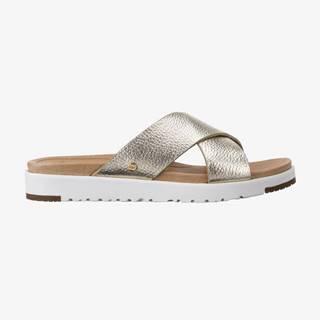 Papuče, žabky pre ženy  - zlatá