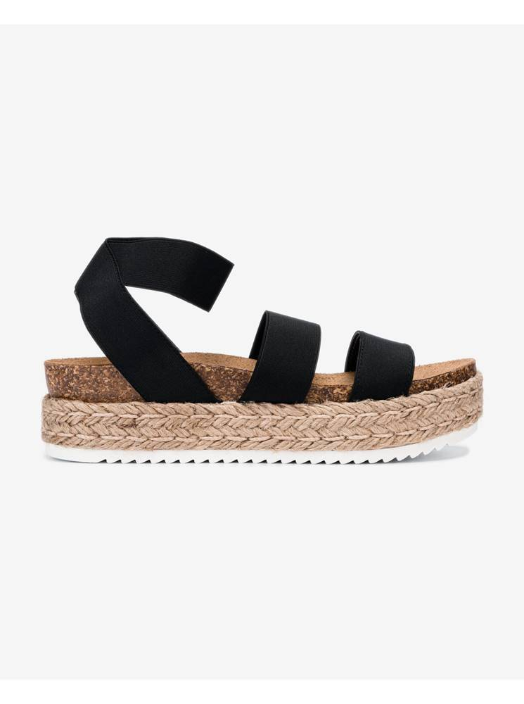 Steve Madden Sandále pre ženy  - čierna
