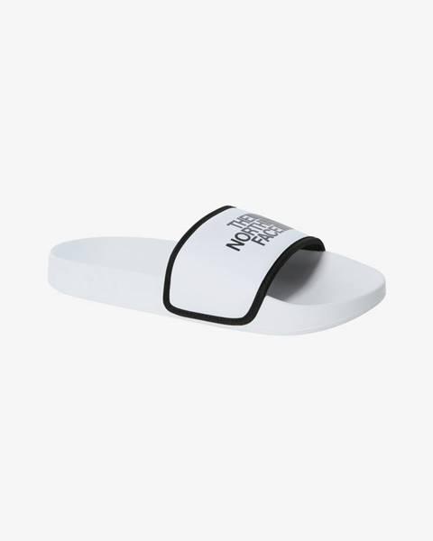 Biele papuče The North Face