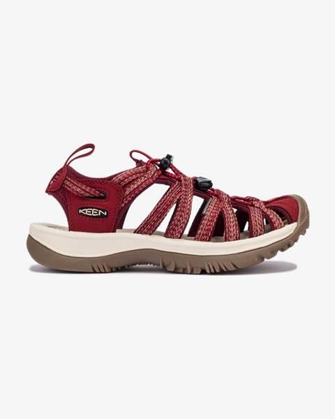 Červené topánky Keen