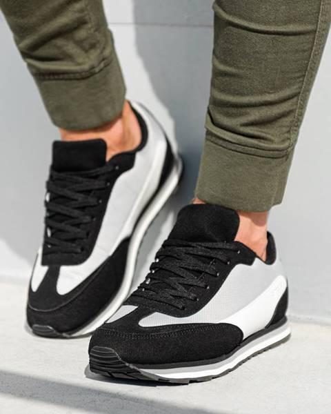 Čierne topánky Ombre Clothing