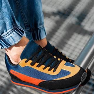 Pánske sneakers topánky T349 - žltá