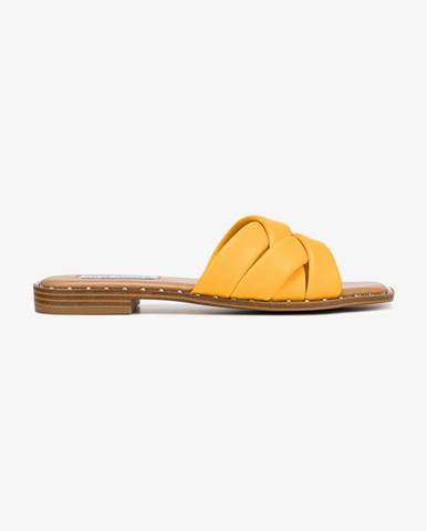 Oranžové papuče Steve Madden