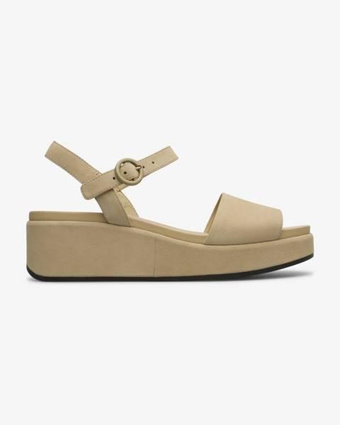 Béžové sandále Camper