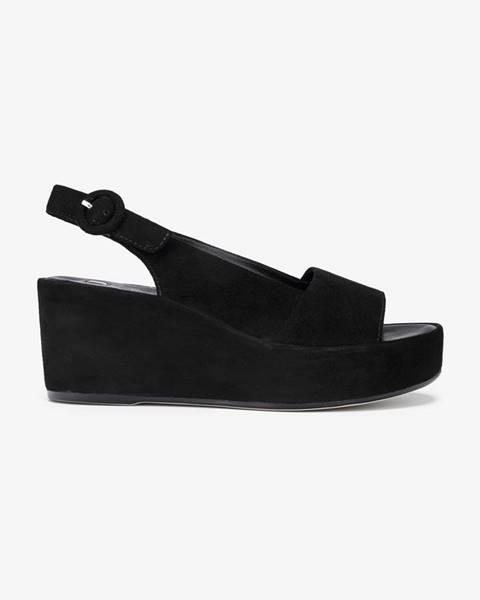 Čierne sandále Högl