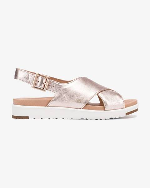 Ružové sandále UGG
