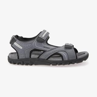 Sandále, papuče pre mužov  - sivá