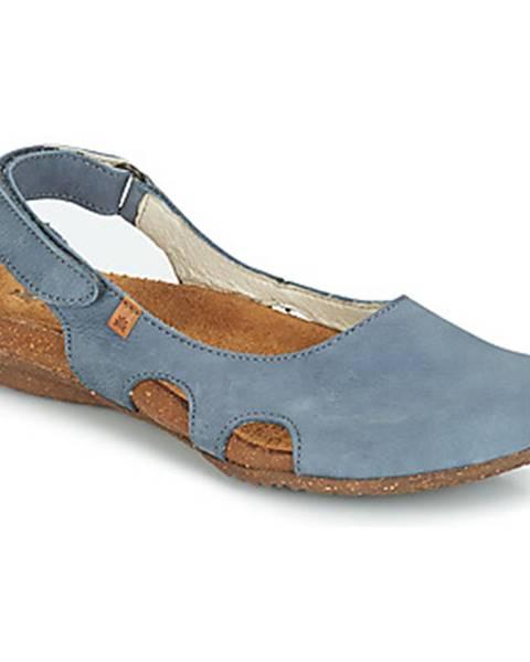 Modré sandále El Naturalista