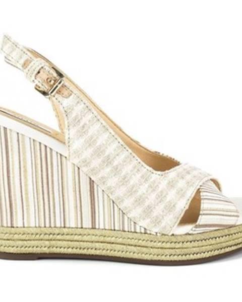 Viacfarebné sandále Geox