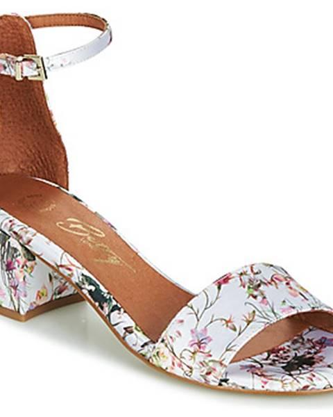Biele sandále Betty London