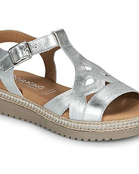 Zlaté sandále Dorking