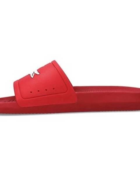Červené topánky Lacoste