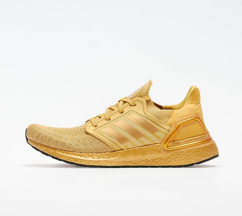 adidas Performance adidas UltraBOOST 20 Gold Metalic/ Gold Metalic/ Gold Metalic