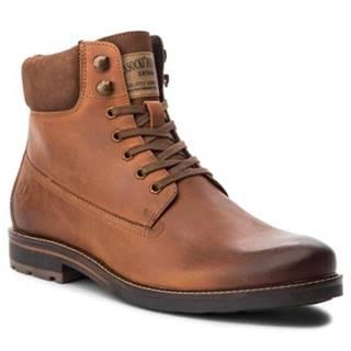 Šnurovacia obuv Lasocki for men MI08-C393-422-03 nubuk,koža(useň) lícová