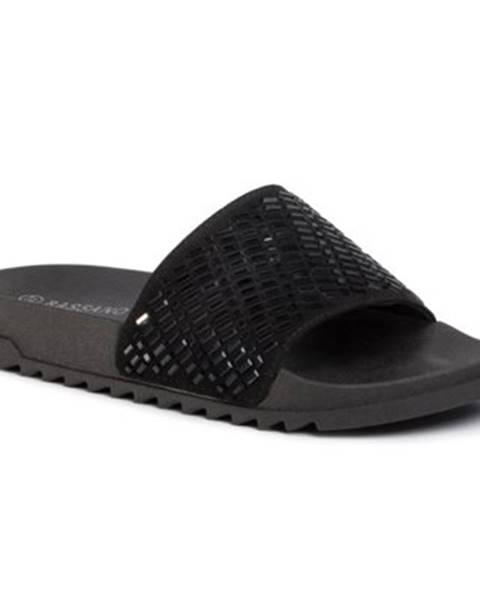 Čierne topánky Bassano