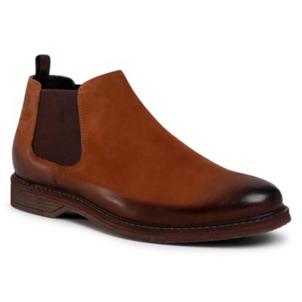 Lasocki for men Členkové topánky Lasocki for men MI08-C597-588-13 Prírodná koža(useň) - Nubuk