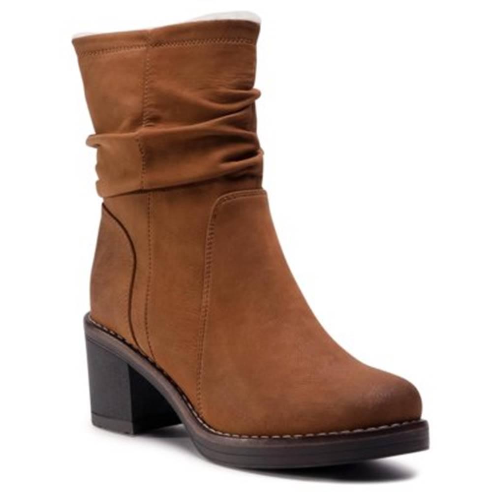 Clara Barson Členkové topánky Clara Barson WS2987-05 koža ekologická