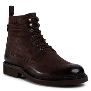Šnurovacia obuv Gino Rossi MI08-C773-770-01 koža(useň) lícová