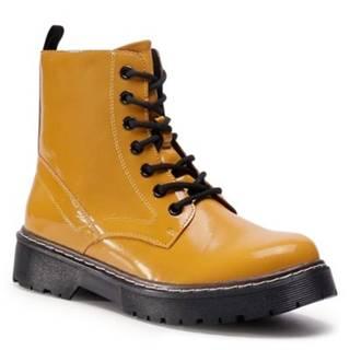 Šnurovacia obuv Jenny Fairy WS2909-03 koža ekologická