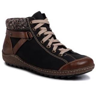 Šnurovacia obuv Rieker L7527-22 Materiał tekstylny,koža ekologická